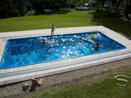 Przygotowanie ogrodu na budowę basenu